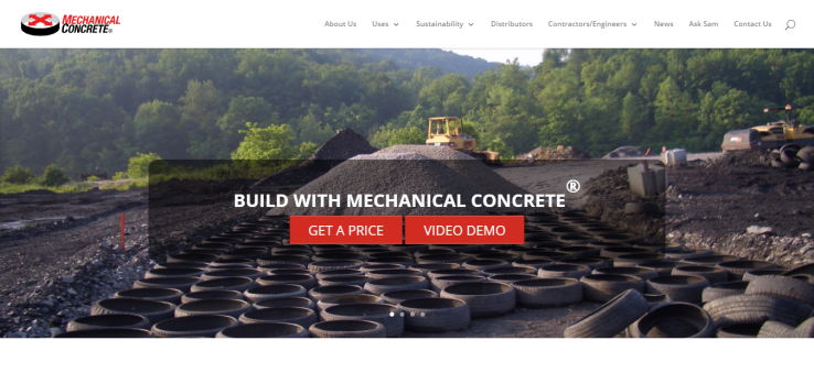 Reinforced Aggregates Company Mechanical Concrete Geocell