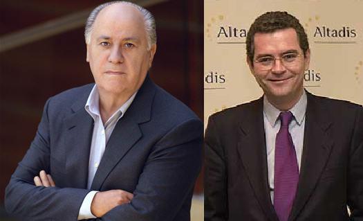 Amacnio Ortega y Pablo Isla