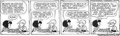 El ajedrez y Mafalda