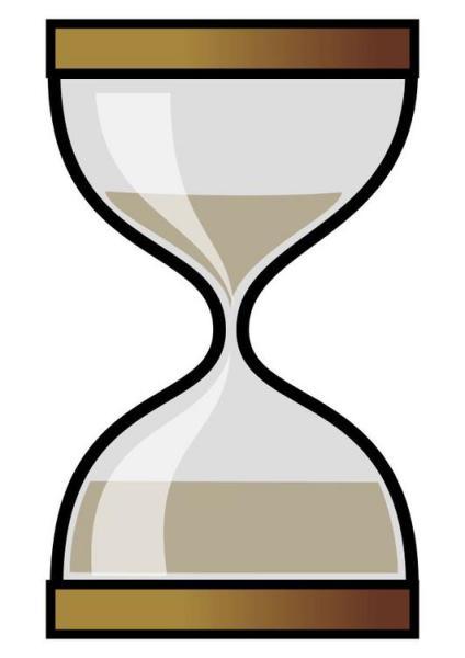 Reloj de arena de la Formación en España (Fuente: rescatar.blogspot.com)
