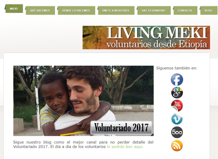 ¿Ya eres de Living Meki? (Fuente: http://livingmeki.webs.com/)